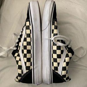 Checkered VANS Old Skool